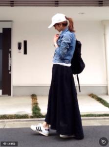 30代女性マキシ丈スカートに関する参考画像