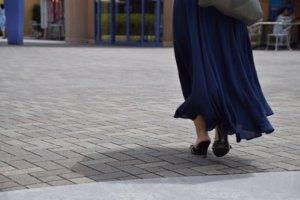 マキシ丈スカートに関する参考画像