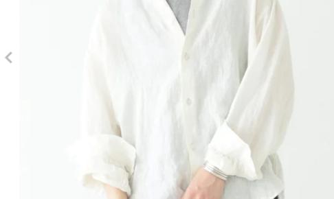 リネンシャツのコーディネートに関する参考画像
