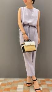 アンクルストラップサンダルの30代女性向けコーディネートに関する参考画像