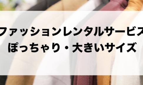 ぽっちゃりや大きいサイズのファッションレンタルに関する参考画像