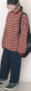 ボーダーのポロシャツに関する参考画像