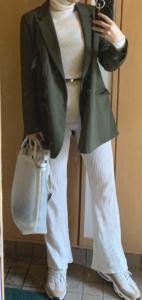 レディースジャケットの春コーデに関する参考画像