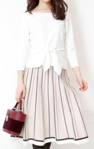 ランチ合コントリンドル玲奈の衣装ブランドに関する参考画像