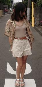 アロハシャツの夏コーデに関する参考画像