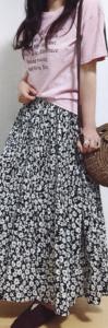 カットソーの春コーデに関する参考画像