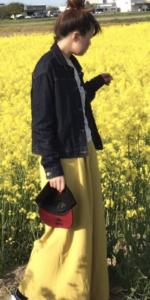 スカンツの春向けコーデに関する参考画像