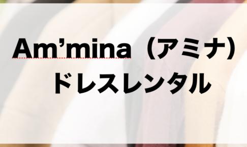 アミナのドレスレンタルに関する参考画像