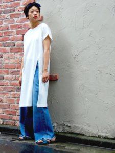 【2020年夏】レディースリボンサンダルの人気色別コーデの参考画像