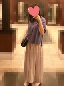 【2020年夏】レディース半袖パーカーの人気色別コーデの参考画像