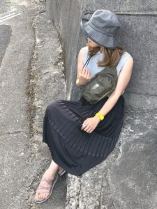 【2020年夏】サファリハットの人気色別コーデの参考画像