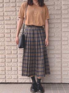 【2020年夏】レディース半袖ポロシャツ人気色別コーデの参考画像