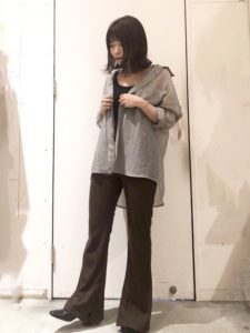 【2020年夏】レディース七分袖ブラウスの人気色別コーデの参考画像