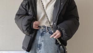 ダウンジャケットのコーデに関する参考画像