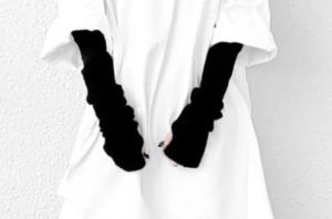 手袋のコーデに関する参考画像