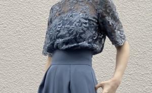 パンツドレスのコーデに関する参考画像
