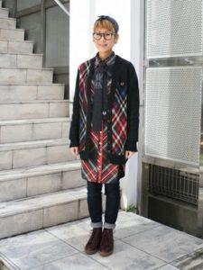 【2020年秋】ニットタイの30代レディース向け色別流行コーデの参考画像