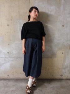 【2020年秋】ガウチョパンツの30代レディース向け色別流行コーデの参考画像