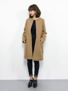 【2020年秋】コートの30代レディース向け色別流行コーデの参考画像