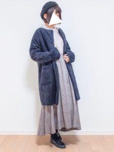 【2020年秋】ムートンコートの30代レディース向け色別流行コーデの参考画像