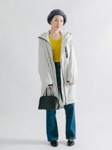 【2020年秋】レインウェア30代レディース向け色別流行コーデの参考画像