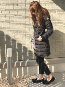 【2020年冬】ダウンコートの30代レディース向け色別流行コーデの参考画像