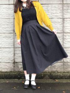 【2020年秋】薄手カーディガンの30代レディース向け色別流行コーデの参考画像