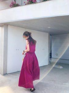 【2020年夏】ロングワンピースの人気色別コーデの参考画像