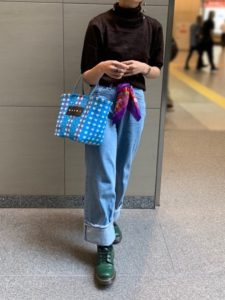 【2020年秋】ショートブーツの30代レディース向け色別流行コーデの参考画像