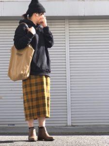 【2020年秋】サイドゴアブーツの30代レディース向け色別流行コーデの参考画像
