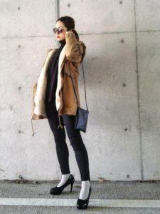 【2020年秋】モッズコートの30代レディース向け色別流行コーデの参考画像