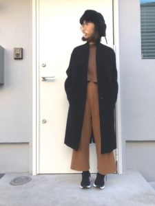 【2020年秋】チェスターコートの30代レディース向け色別流行コーデの参考画像