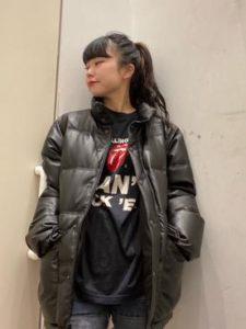 【2020年秋】レザーダウンの30代レディース向け流行コーデの参考画像