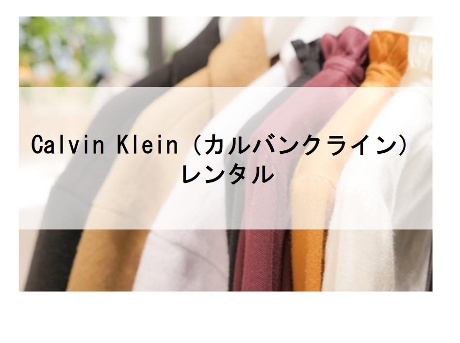 Calvin Klein(カルバンクライン)のドレスレンタルに関する参考画像