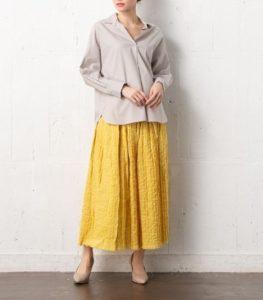 ギルティで新川優愛が着用しているスカートのブランドの参考画像