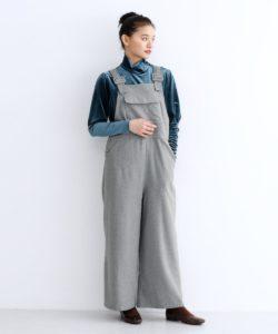 美食探偵で小芝風花さんが着用しているオーバーオールブランドの参考画像