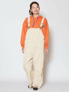 美食探偵で小芝風花さんが着用しているサロペットブランドの参考画像