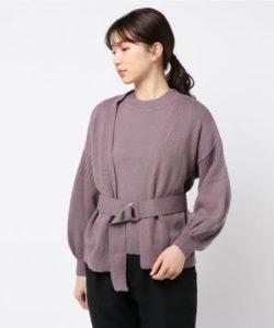 ギルティで新川優愛が着用しているトップスブランドの参考画像