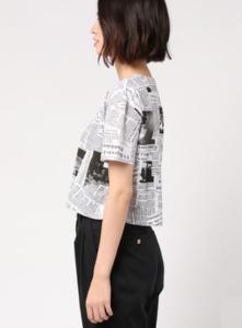 M愛すべき人がいてで安斉かれんさんが着用しているTシャツブランドの参考画像