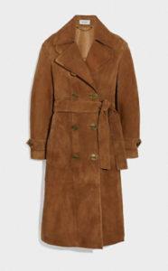 M愛すべき人がいてで安斉かれんさんが着用しているコートブランドの参考画像