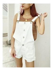 M愛すべき人がいてで安斉かれんさんが着用しているショートパンツブランドの参考画像
