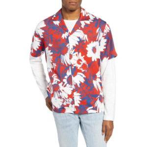 vs嵐で松本潤さんが着用しているシャツブランドの参考画像