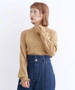 美食探偵で小芝風花さんが着用しているニットブランドの参考画像