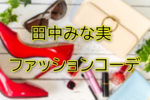 田中みな実のファッションコーデに関する参考画像