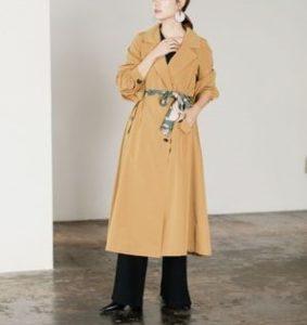 ギルティで新川優愛が着用しているアウターブランドの参考画像