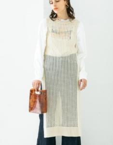 家政夫のミタゾノで飯豊まりえが着用しているワンンピースブランドの参考画像