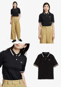 ハケンの品格で山本舞香さんが着用しているポロシャツブランドの参考画像