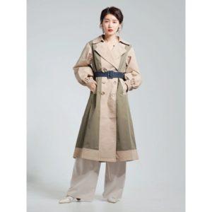 ギルティで新川優愛さんが着用しているコートブランドの参考画像