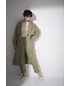 ハケンの品格で山本舞香さんが着用しているコートブランドの参考画像