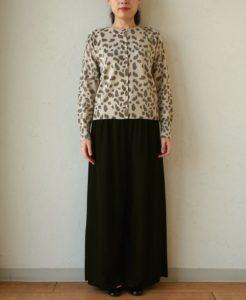 ギルティで新川優愛さんが着用しているカーディガンブランドの参考画像